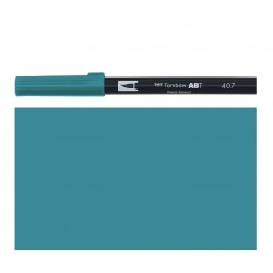 Tombow - Pennarello Dual Brush - Tiki Teal 407