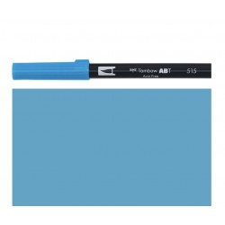 Tombow - Pennarello Dual Brush - Light Blue 515