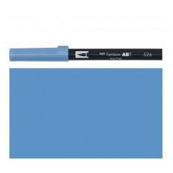 Tombow - Pennarello Dual Brush - True Blue 526