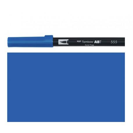 Tombow - Pennarello Dual Brush - Ultramarine 555
