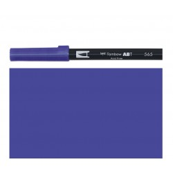 Tombow - Pennarello Dual Brush - Deep Blue 565