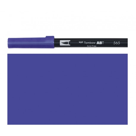 Tombow - Pennarello Dual Brush - Deep Blue 565