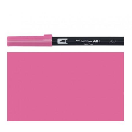 Tombow - Pennarello Dual Brush - Pink Rose 703