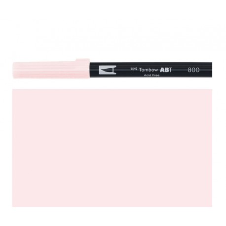 Tombow - Pennarello Dual Brush - Baby Pink 800