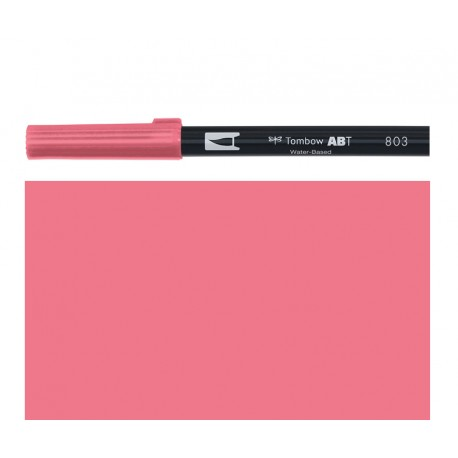 Tombow - Pennarello Dual Brush -  Pink Punch 803