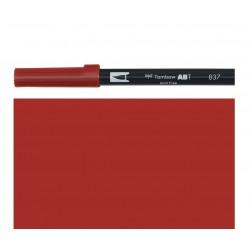 Tombow - Pennarello Dual Brush -  Wine Red 837