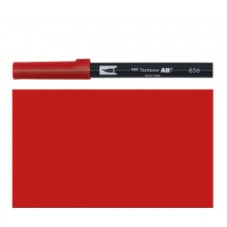 Tombow - Pennarello Dual Brush - Chinese Red 856