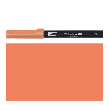 Tombow - Pennarello Dual Brush - Coral 873