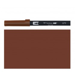 Tombow - Pennarello Dual Brush - Brown 879