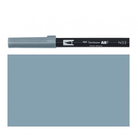 Tombow - Pennarello Dual Brush - Cool Grey 8 - N52