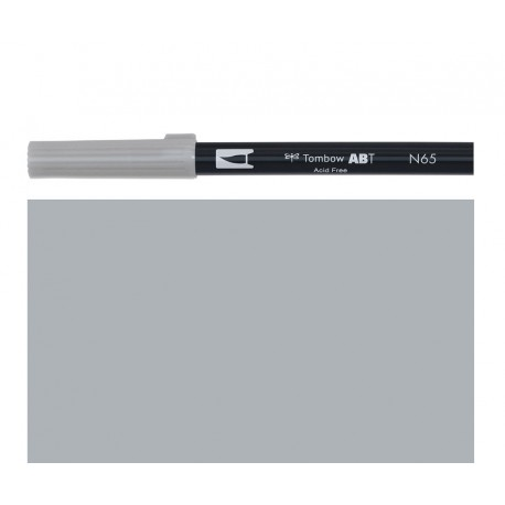 Tombow - Pennarello Dual Brush - Cool Gray 5 - N65