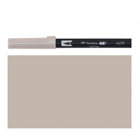 Tombow - Pennarello Dual Brush -   Warm Gray 2 - N79