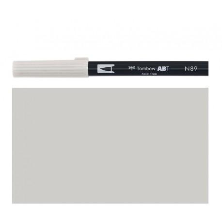 Tombow - Pennarello Dual Brush -  Warm Gray 1 - N89