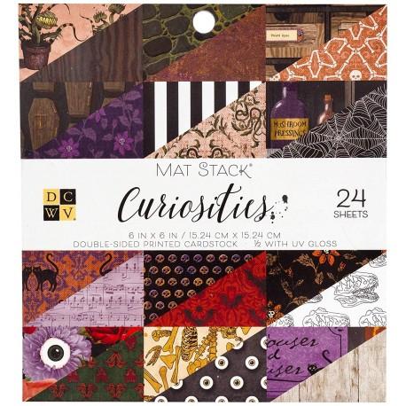 "DCWV - Kit Collezione Curiosities - 6x6"""