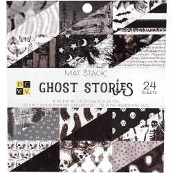 DCWV - Kit Collezione Ghost Stories  - 6x6""