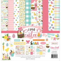 "Echo Park - Kit Collezione I Love Easter - 12x12"""