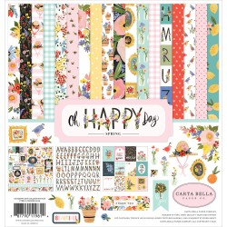 Carta Bella - Kit Collezione Oh Happy Day - 12x12""
