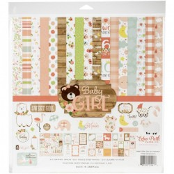 "Echo Park - Kit Collezione Baby Girl - 12x12"""