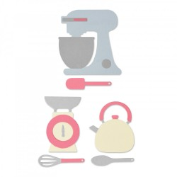 Sizzix - Fustella - Kitchen Set