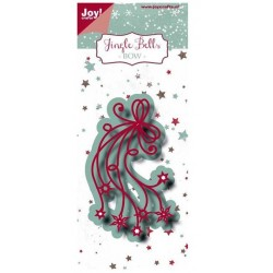 Joy Craft - Fustella - Jingle Bells Bow