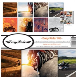 """Reminisce  - Kit Collezione Easy Rider - 12x12"""""""