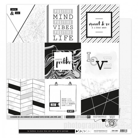 Florileges Design - Kit Carte Stampate - En Toutes Lettres