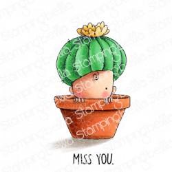 StampingBella - Timbro Cling - Baby Cactus