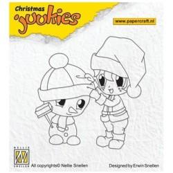 Nellie Snellen - Timbro Clear - Christmas Juukies - JUK001