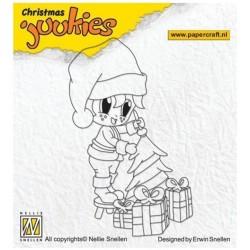 Nellie Snellen - Timbro Clear - Christmas Juukies - JUK004