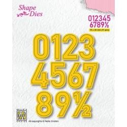 Nellie Snellen - Fustelle - Numbers Large