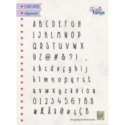 Nellie Snellen - Timbri Clear - alphabet Javi