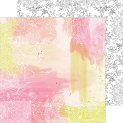 Pink Fresh Studio - Carta Just A Little Lovely - One Fine Day