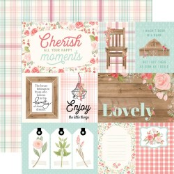 Carta Bella - Carta Farmhouse Market - 4x6 Journaling Cards