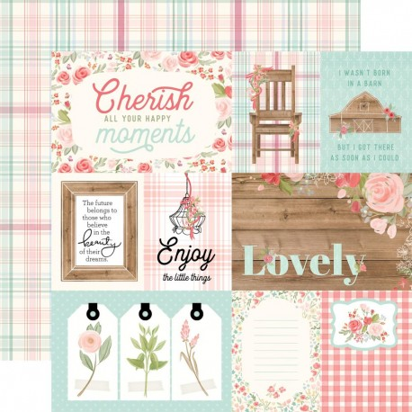 Carta Bella - Carta Farmhouse Market - 4x6 Journaling Cards