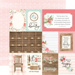 Carta Bella - Carta Farmhouse Market - 3x4 Journaling Cards