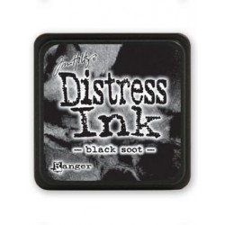 Tampone Distress Mini - Black Soot
