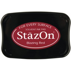Tampone stazon - Blazing red