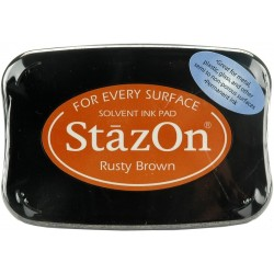 Tampone stazon - Rusty brown