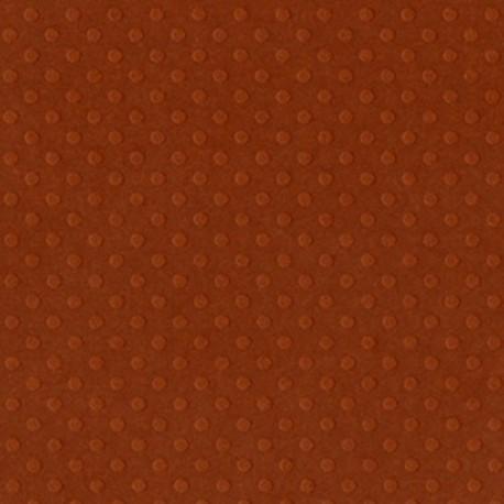 Cartoncino bazzill dots - Terra cotta
