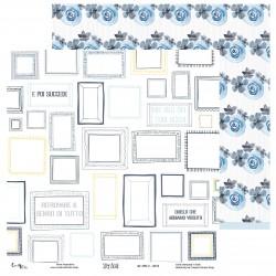 Creative Studio - Carta Sky Blue 02 - 30x30 cm