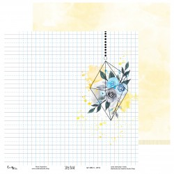 Creative Studio - Carta Sky Blue 03 - 30x30 cm