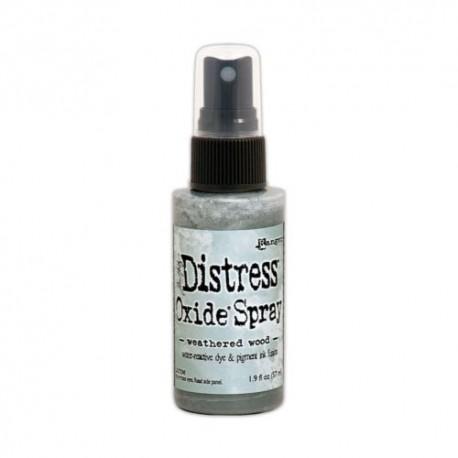 Distress Oxide Spray - Colori - Weathered Wood