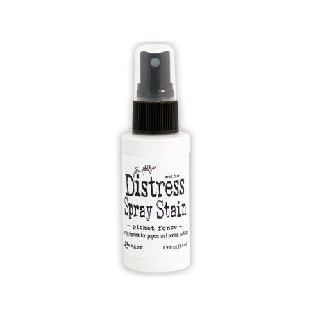 Distress Stain Spray - Colori - Picket Fence