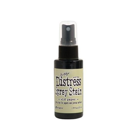 Distress Stain Spray - Colori - Old Paper