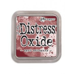 Tampone Distress Oxide - AGED MAHOGANY
