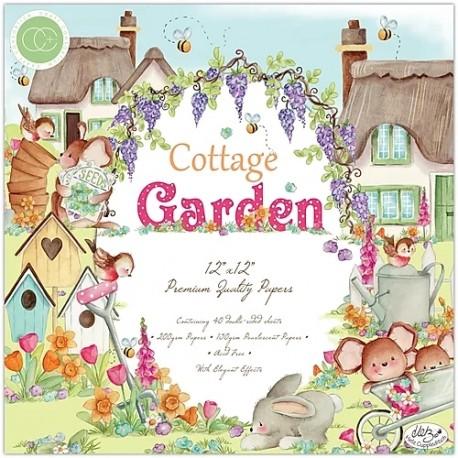 """Craft Consortium - Kit Cottage Garden - 12""""x12"""""""