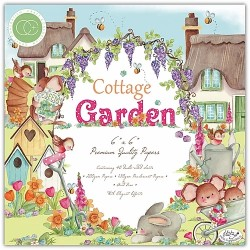 "Craft Consortium - Kit Cottage Garden - 6""x6"""