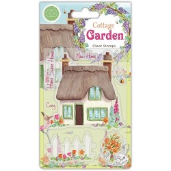 Craft Consortium - Timbri Clear - Cottage Garden