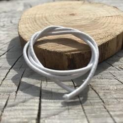 DCIC - Rilegatura - Elastico tubolare Bianco 1mm