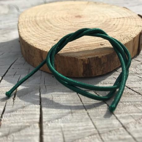 DCIC - Rilegatura - Elastico tubolare Verde Scuro 1mm
